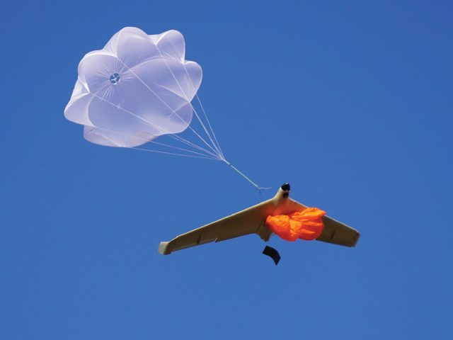 UAV and Drone Parachute Recovery - Manta Air.